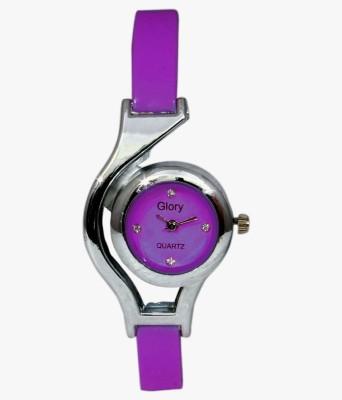 Fabkharidi Glory WC Purple Analog Watch  - For Girls, Women