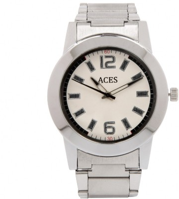 Aces A-0493 WH Analog Watch  - For Men