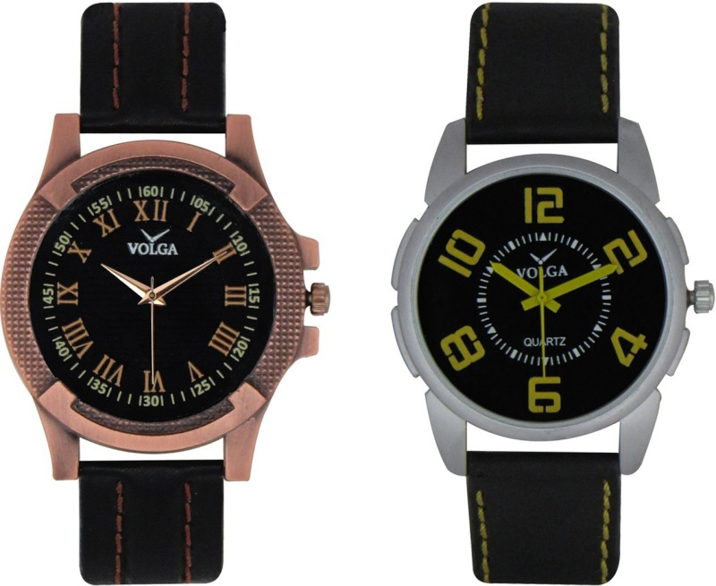 VOLGA Branded Leather Quality Designer Dial Diwali WATEN6XGHNDPFEB5