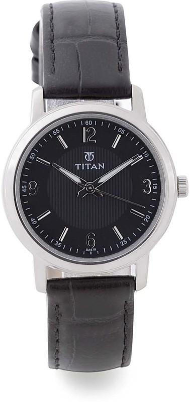 Titan 9885TL01 Purple Analog Watch For Women