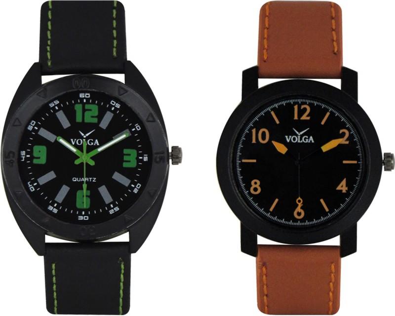 VOLGA Branded Leather Quality Designer Dial Diwali WATEN6XKRZRJBEBQ