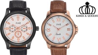 K&Q KQ0104M REGIUM Analog Watch  - For Boys, Men