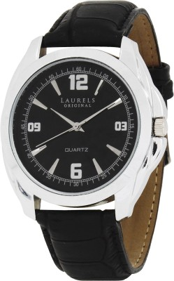 Laurels Lo-Dip-302s Diplomat Analog Watch - For Men