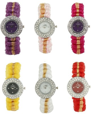 Lime lady-01-02-03-04-05-06 Analog Watch  - For Women