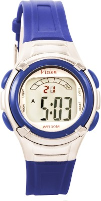 Vizion 8523-6blue Sports Series Digital Watch  - For Boys