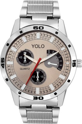 Yolo YGC-047GR Analog Watch  - For Boys, Men