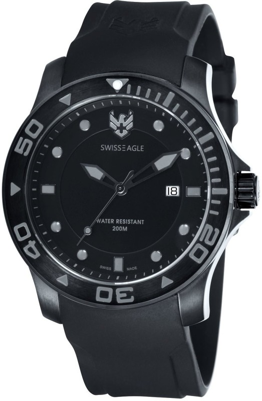Swiss Eagle SE 9002 05 Dive Analog Watch For Men