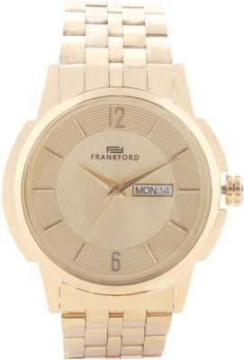 Frankford Ffgc-6 Gold Ddt Fashion Analog Watch  - For Men