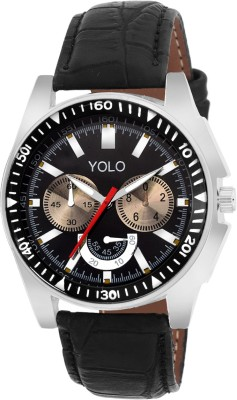 Yolo ygs-035bk Analog Watch  - For Boys, Men