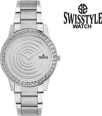Swisstyle SS-LR050-WHT-CH Dazzle Analog Watch  - For Women