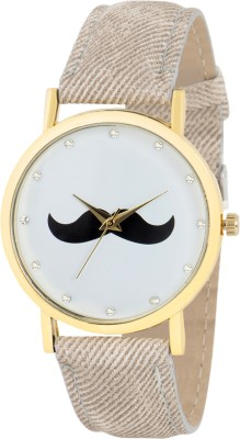 Gypsy Club GC-127 Mustache Series Analog Watch  - For Men, Boys, Women, Girls