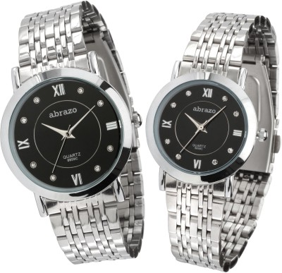 abrazo Q8959c Combo Analog Watch  - For Couple