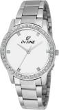Dezine DZ-LR2012-WHT Jewel Analog Watch ...