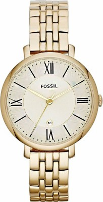 Fossil ES3434 Jacqueline Analog Watch  - For Women