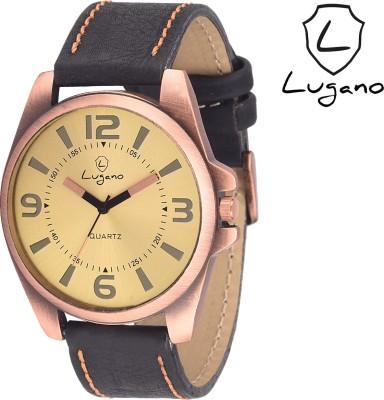 Lugano DE 1036 Antique Series Analog Watch  - For Men