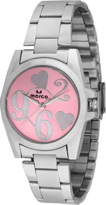 Marco MR-LR071-PNK-CH Marco Analog Watch  - For Women