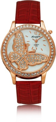 Hongyee A30 Butterfly Analog Watch  - For Women