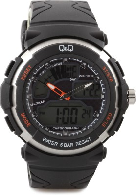 Q Q M012 003 Analog Digital Watch    For Men Q Q QQ M012 003 M012003 Analog Digital AnalogDigital available at Flipkart for Rs.1880