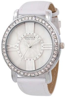 Exotica Fashions Ef-70-I-White-Dm Dm Series Analog Watch  - For Women