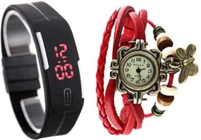 Puma Plus 12b Analog-Digital Watch  - For Boys, Girls, Couple