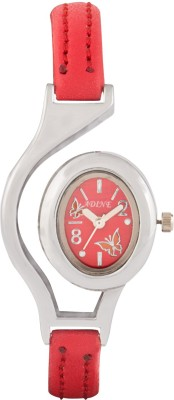 Adine AD-1302 RED-RED Fasionable Analog Watch  - For Women