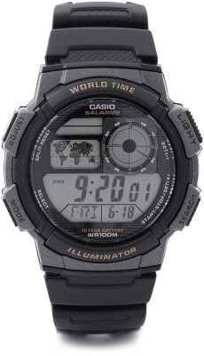 Casio D080 Youth Digital Watch - For Men