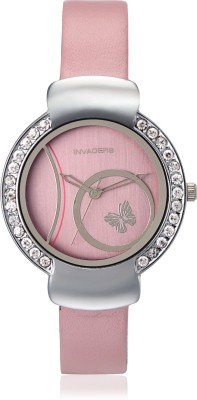 Invaders CUTE-PNK Cute Analog Watch  - For Women