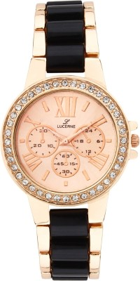 Lucerne PS025Gss Analog Watch  - For Girls