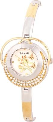 Telesonic GCI-304DUAL Desire Analog Watch  - For Women