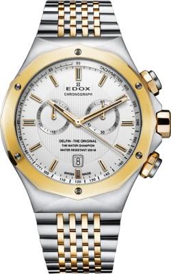 Edox 10108 357J AID Delfin Analog Watch  - For Men