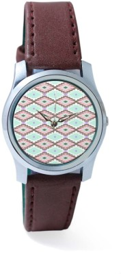 PosterGuy BigOwl Aztec Pattern Women's Analog Wrist Watch-2404208336-RS2-S-BRW Analog Watch  - For Women