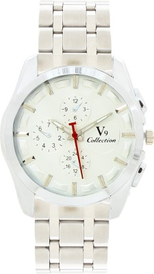 Invaders 67085-WTSLV Emperors Analog Watch  - For Men