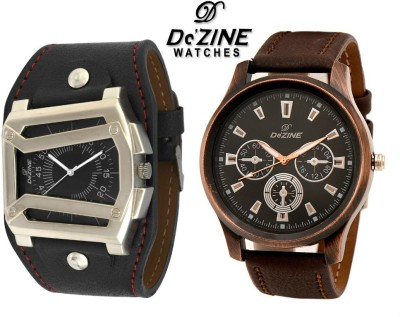 Dezine COMBO OF GSQ102+GR401 Analog Watch  - For Boys