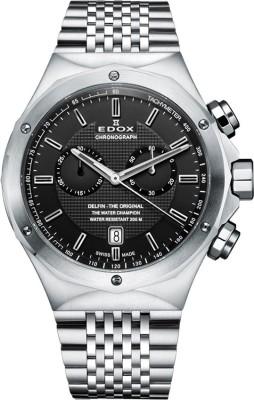 Edox 10108 3 NIN Delfin Analog Watch  - For Men