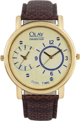 Olay Collection STYLISH_AW_109 Platina Analog Watch  - For Men