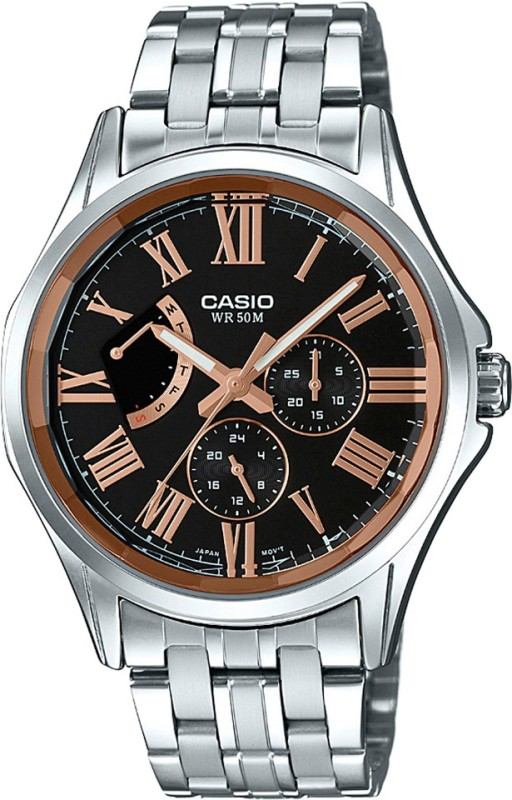 Casio A1192 Enticer Mens Analog Watch For Men