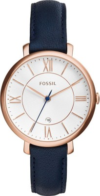 Fossil ES3843 Jacqueline Analog Watch - For Women