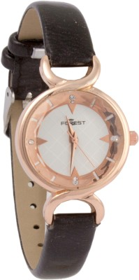 Forest Addic Black Strap And Elegant Dial (41) Analog Watch  - For Women