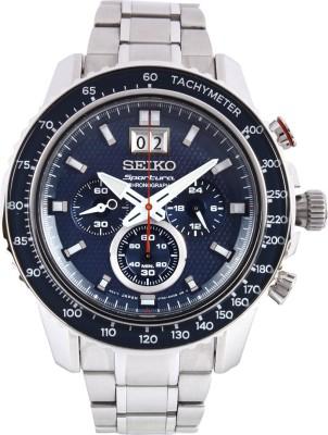 Seiko SPC135P1 Sportura Chronograph Analog Watch - For Men