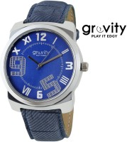 Gravity GAGXBLU55 5 Analog Watch For Men