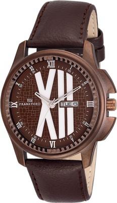 Frankford FFGS-1019BR Analog Watch  - For Men, Boys