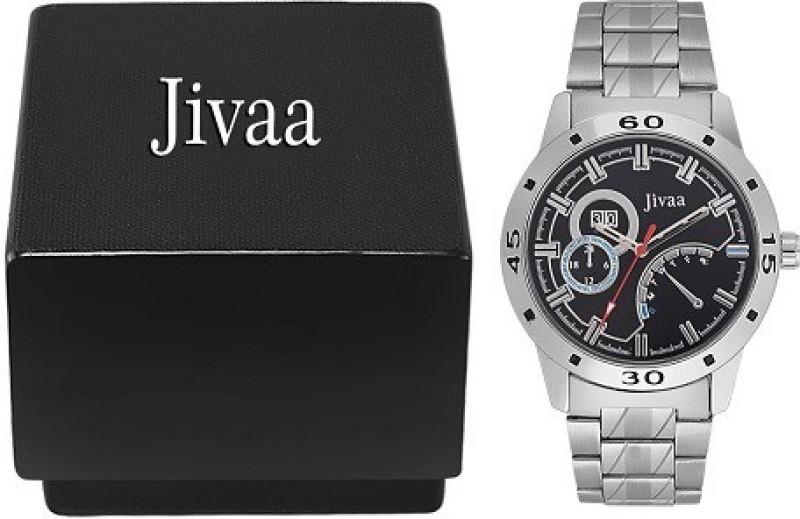 Jivaa Petrol Series Analog Watch For Men