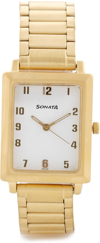 Sonata NG7078YM09 Analog Watch For Men