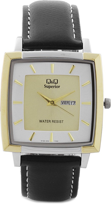 QQ S190 500Y Analog Watch For Men