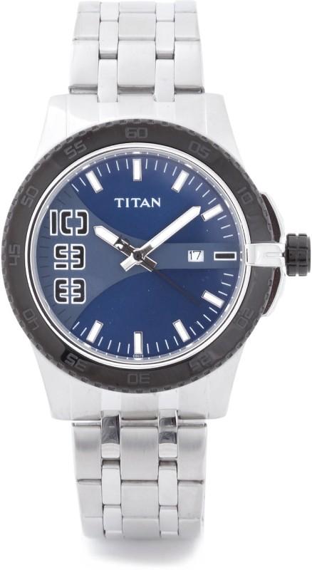 Titan 9442KM02 Fashion Analog Watch For Men