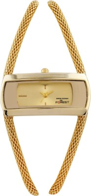 Swiss Design Forest Collection Double Chain Design Analog Watch  - For Women, Girls