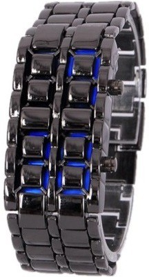 Shoppingekart CW3305 Chain Blue LED Digital Watch    For Boys, Men available at Flipkart for Rs.299