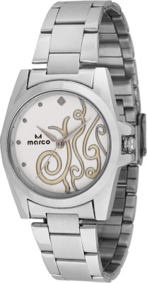 Marco MR-LR070-WHT-CH Marco Analog Watch  - For Women