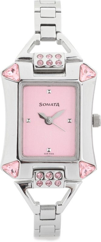 Sonata 8124SM01 Analog Watch For Women