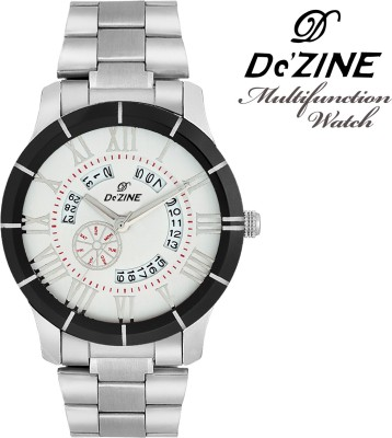 Dezine Day and Date Display multifunction-GR1005-WHT Analog Watch  - For Men